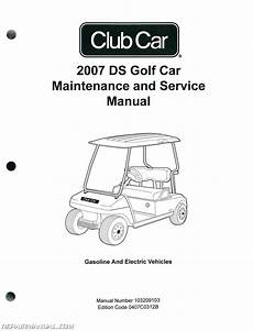what is the best auto repair manual 2007 cadillac cts v electronic valve timing 2007 club car ds golf car gas and electric golf cart service manual