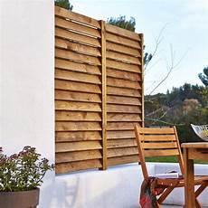 Kit Panneau Persienne En Bois Naturel L 80 X H 180 Cm X