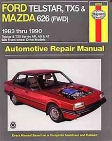 book repair manual 1999 mazda 626 engine control ford telstar tx5 mazda 626 fwd 1983 1990 haynes service repair manual sagin workshop car