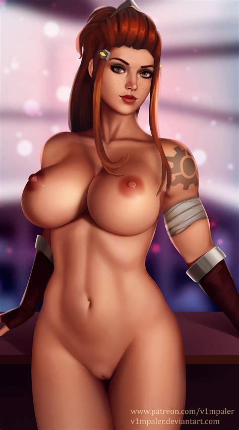 Overwatch Nude Brigitte