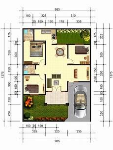 Penjelasan Denah Rumah Type 70 Desain Dan Ukuran