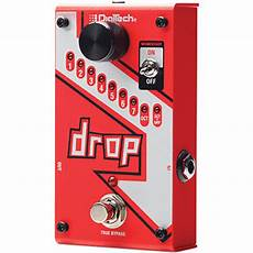 drop tune pedals digitech drop polyphonic drop tune pedal drop b h photo