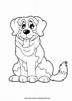 Ausmalbilder Tiere Pdf Ausmalbilder Grosser Hund Tiere Zum Ausmalen
