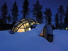 Iglu Hotel Finnland - ecology colors igloo hotels and villages