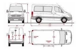Mercedes Sprinter Box Van Dimensions 3