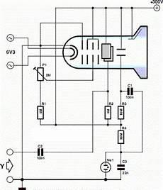 Minimalist Oscilloscope Circuit Diagram