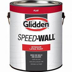 glidden professional 1 gal speed wall white flat interior latex paint gps 2000 01 the home depot