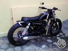 Gl 100 Modif Japstyle by Tangki Knalpot Kustom Gl 100 Custom Chopper Wanna Be
