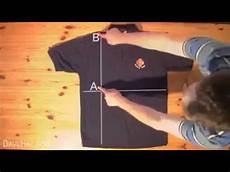 T Shirt Falten - t shirt in 2 sekunden falten
