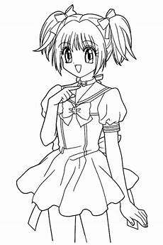 anime coloring pages the sun flower pages