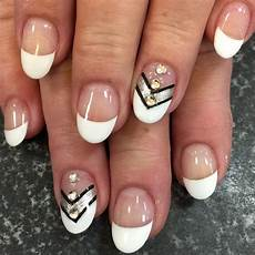 20 white tip nail art designs ideas design trends