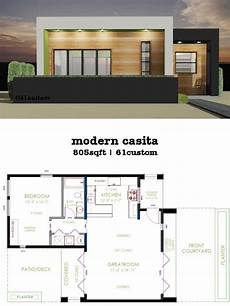 modern one bedroom house plans casita plan small modern house plan small modern house