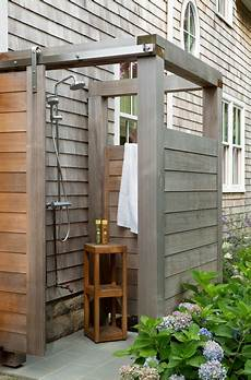 house outdoor shower style patio boston