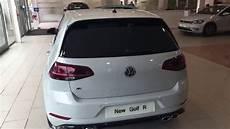 Volkswagen Golf R 5dr Dsg In White Silver Metallic Crewe