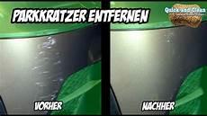 Kratzer Auto Entfernen - anleitung auto polieren park kratzer entfernen mit der