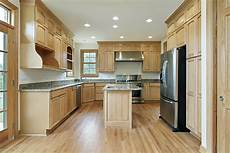Kitchen Cabinet Color Wood Floor by 43 Quot New And Spacious Quot Light Wood Custom Kitchen Designs