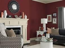 weinrot wandfarbe wandfarben f 252 rs wohnzimmer 25 gestaltungsideen