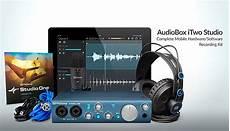 presonus audiobox itwo studio presonus audiobox itwo studio interface headphones complete reverb