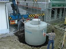 pro zisterna regenwassernutzung betonzisternen erdtanks