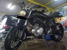 Vixion Modif Cb by Yamaha Vixion Modif Honda Cb Foto Modifikasi Motor Terbaru