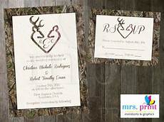 Wedding Invitations Camo