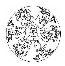 Ausmalbild Schneeflocken Mandala Malvorlagen Mandala Winter Coloring And Malvorlagan