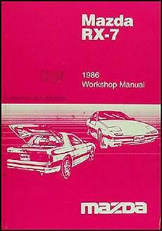 manual repair autos 1986 mazda rx 7 windshield wipe control 1986 mazda rx 7 repair shop manual original