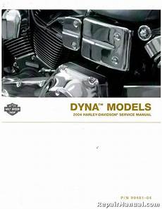 Harley Davidson Factory Service Manual by 2004 Harley Davidson Dyna Motorcycle Service Manual