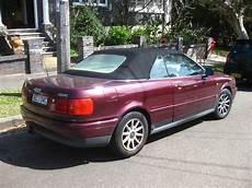 aussie parked cars 1994 audi b4 cabriolet