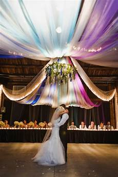 memorable wedding tulle wedding decorations a fantasy in fabric