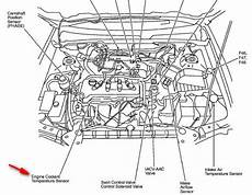 2001 nissan sentra engine diagram both cooling fans are not coming on in a 2001 nissan sentra se model 2 0l engine and the