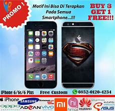 Jual Promo Garskin Iphone 6 6s 6 Plus Motif Superman