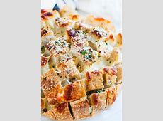 crusty cheese and herb pull apart bread_image
