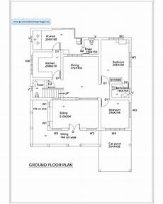 kerala house floor plans kerala home plan and elevation 2010 sq ft kerala