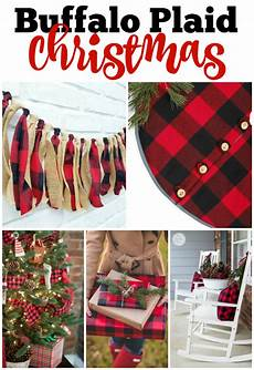 Buffalo Plaid Decorations by Must Craft Tips Decorating Trends