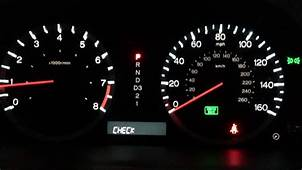 Vsa And Check Engine Light 2009 Honda Pilot