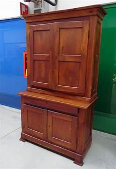 credenza ciliegio credenza doppio corpo in ciliegio luigi filippo met 224 800