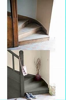 peinture escalier bois v33 96884 peinture escalier gris anthracite pour relooking v33