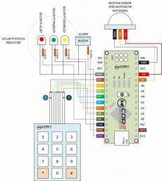 security alarm system pir sensor and keypad with nano 14core com