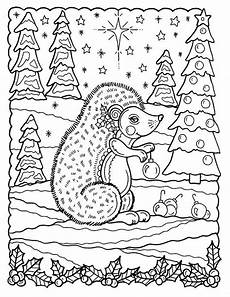 Ausmalbilder Weihnachten Tiere 5 Pages Of Coloring Pages And Whimsical