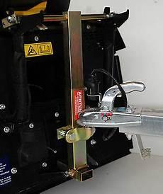 anhängerkupplung für rasentraktor anbaurahmen f 220 r aufsitzm 196 rasenm 228 rasentraktor