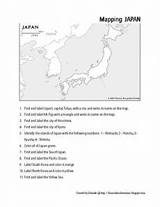 japanese time worksheets 3050 mapping japan worksheet for 3rd 8th grade lesson planet