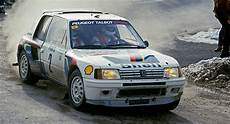 Race Winning Peugeot 205 T16 B Rally Car Heading To