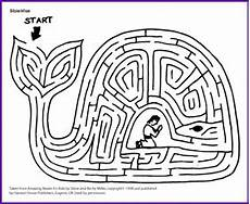 worksheets for kindergarten in 18604 jonah story and maze korner biblewise hebrewverbs jonah and the whale