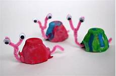 Egg Snail Craft