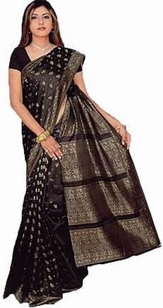 sari kaufen deutschland sari kleid in schwarz trendofindia shopping