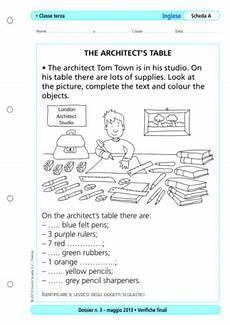test ingresso superiori matematica verifiche finali inglese classe terza la vita