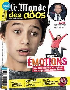 Le Monde Des Ados Le Magazine Des 233 Es Coll 232 Ge Fait