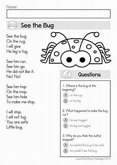 poetry comprehension worksheets year 2 25389 image result for poem comprehension for grade 1 reading comprehension kindergarten reading