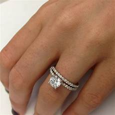 1 21 carat wedding diamond engagement ring 18k white gold ebay